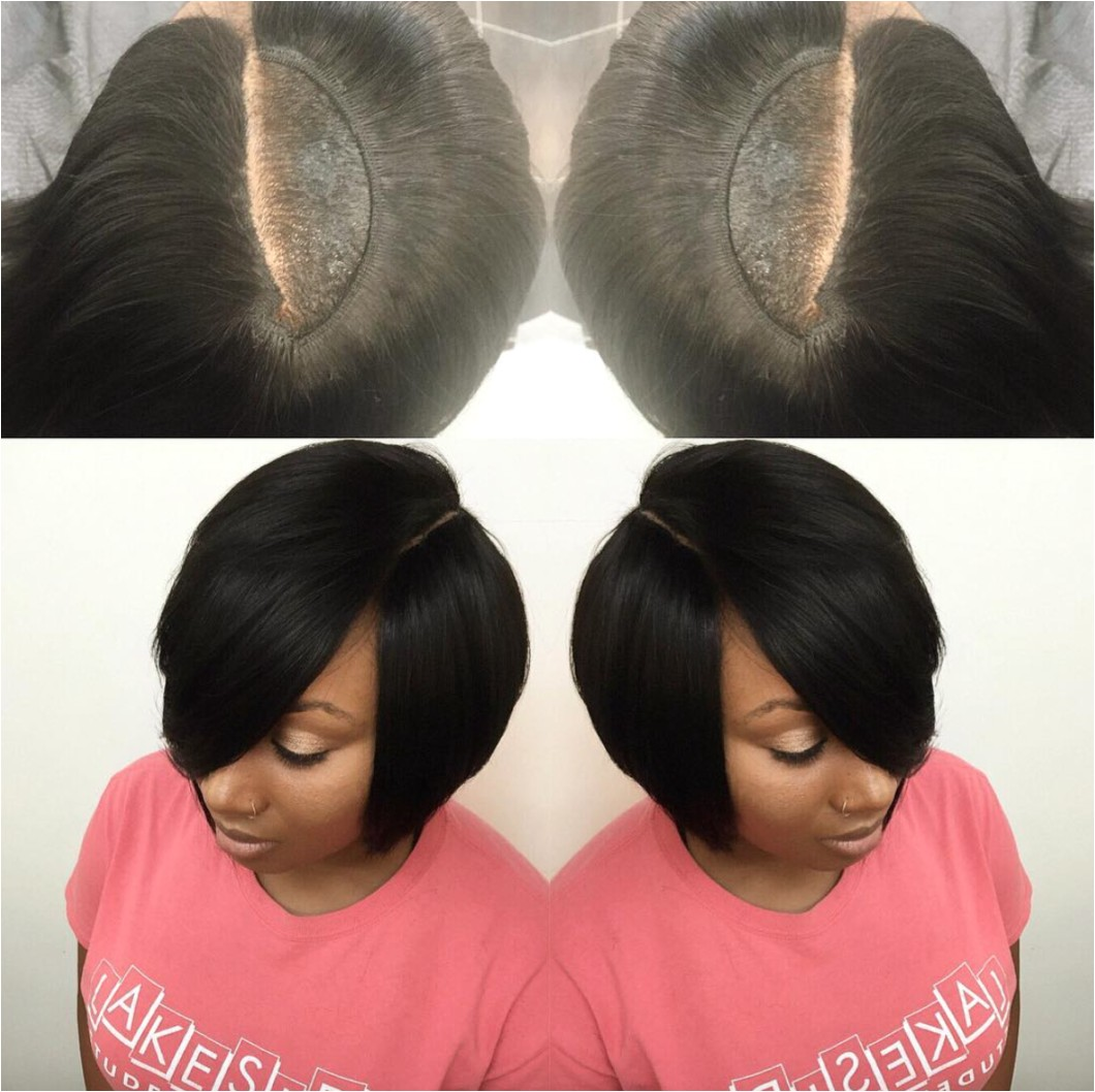 Nice invisible part quick weave via hairbylatise Read the article here