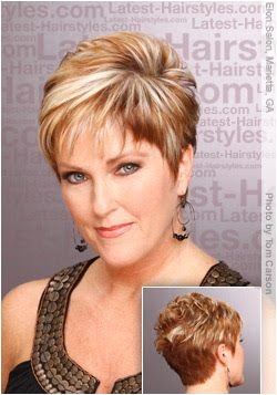 short haircuts for women over 50 front and back view Google Search