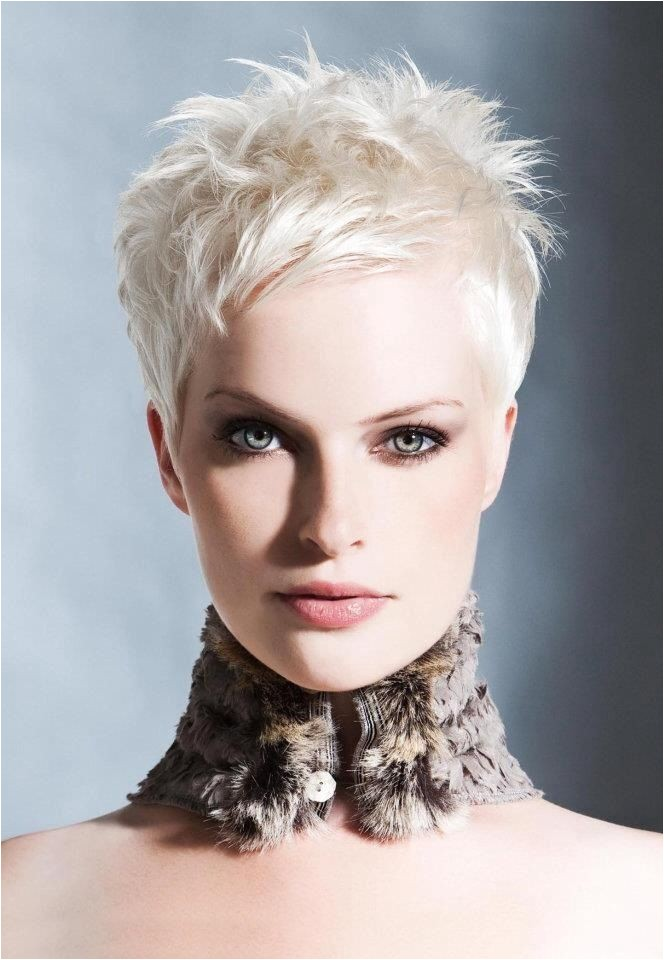 Short hair styles She is giving us FACE shorthairstyle pixiecut blondhair