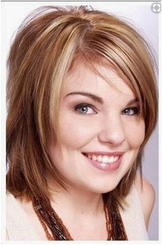 hairstyles for chubby double chin face Fat Face Short Hair Short Hairstyles Round Face