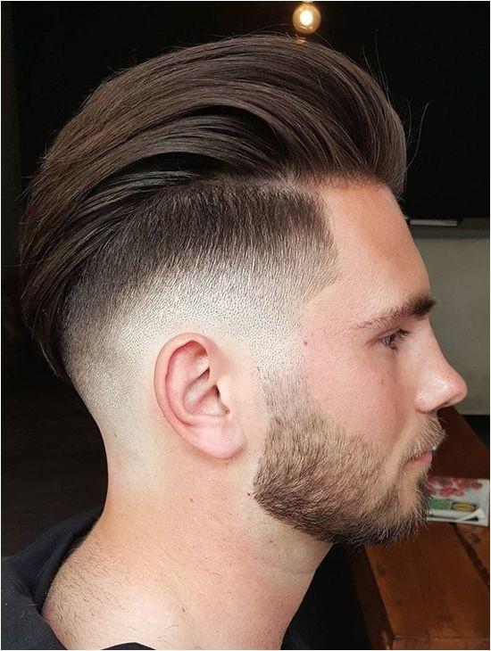 Stylish Long Slicked Back Undercut Hairstyles for Men 2017 2018