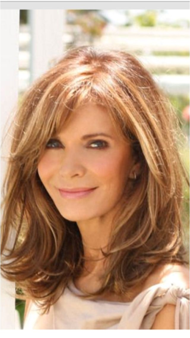 Perfect for over 40 Med Layered Hair Cuts Medium Length Layered Hairstyles Medium Length