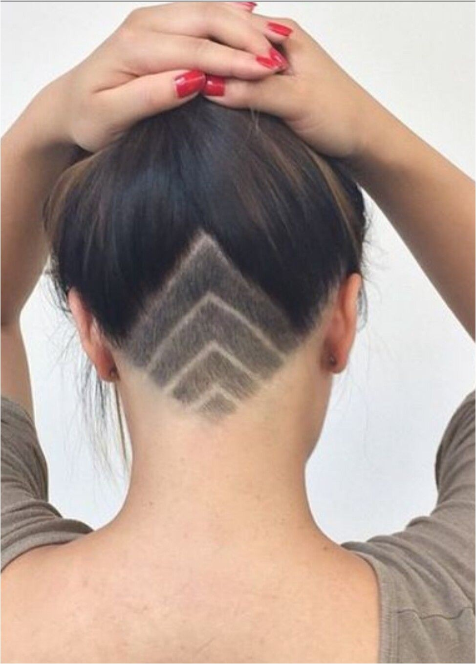 Womens Hairstyles Shaved Sides Pin by A Me On Undercuts Pinterest