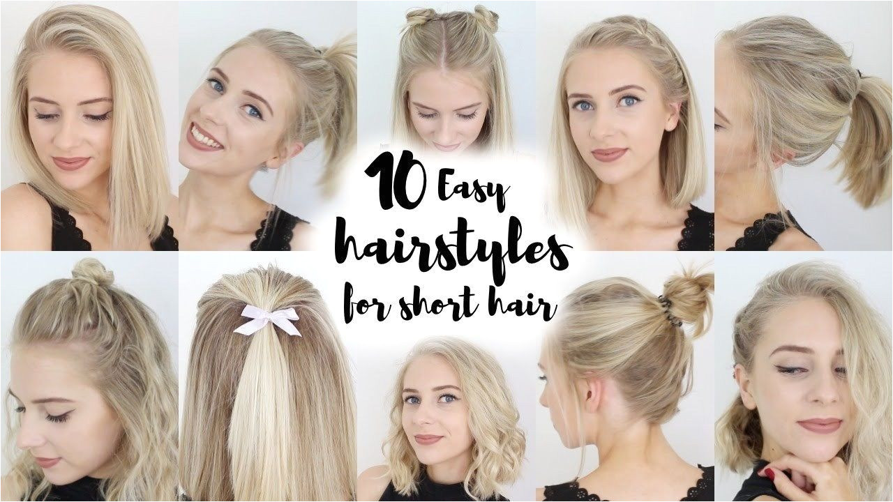 New Hairstyle For Short Hair Tutorial
