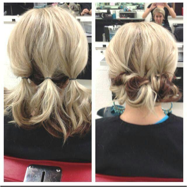 Updo for Shoulder Length Hair More