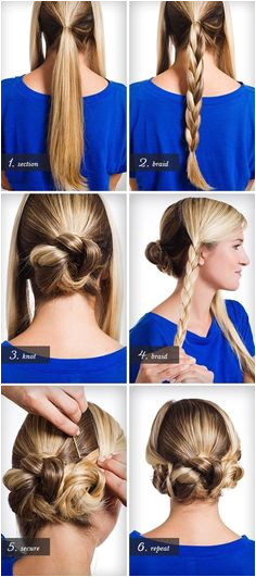 This is a very easy to do hairstyle for teens and young girls All you
