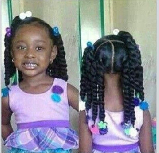 Curly Hairstyles for Little Black Girls Unique 15 Braid Styles for Your Little Girl as She
