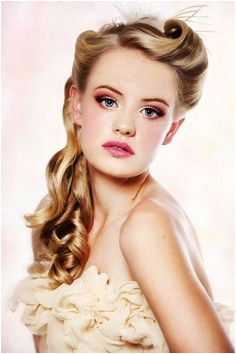 Retro Hairstyle cool style 2016 Bridesmaid Hair Vintage Hairstyles For