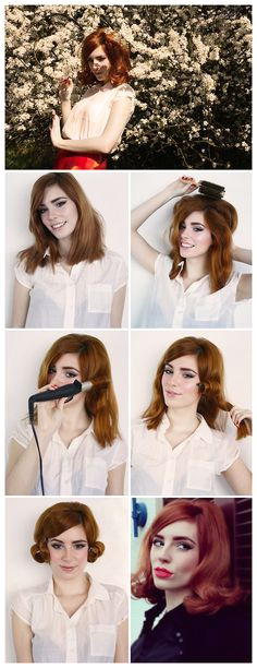 HOW TO SIXTIES HAIR TUTORIAL by Vanessa