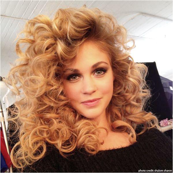 80 s curls love it