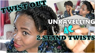 by Me and My Hair · 4C TWIST OUT METHOD UNRAVELLING 4C HAIR CORRECTLY