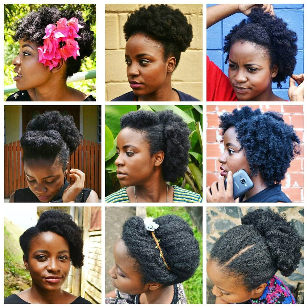 Versatility of 4c hair Beautiful hair is healthy hair no matter the texture or length Perfect as is