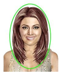 Medium Hairstyles For Fat Faces