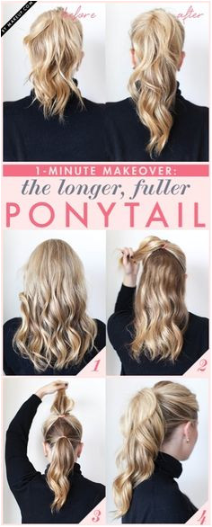 This 1 minute hairstyle is perfect for nurses on the go NurseLife Hair