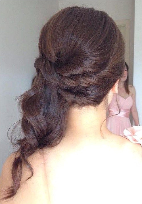 half updo with twists