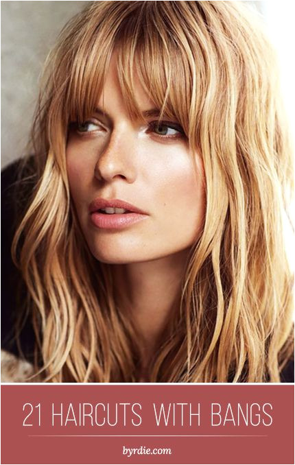The best haircuts with bangs 21 different beautiful styles hair inspiration