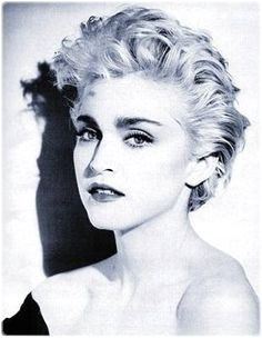 madonna short hair 80s Google Search