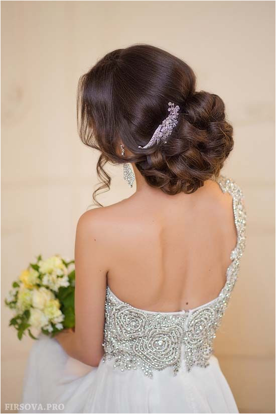 wedding updo hairstyle ideas 2 via elena radoman Deer Pearl Flowers