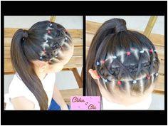 Diadema Banditas Elasticas Elastic band headband Peinados para Colegio