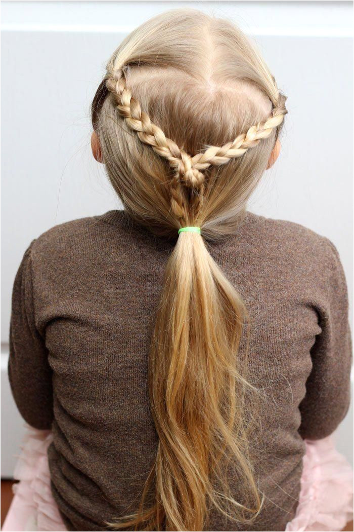 Easy Hairdos for Girls perfect 5 minute dos for school days easyhairstylesshort