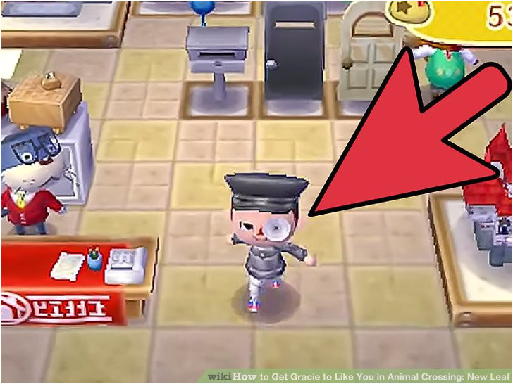 Image titled Get Gracie to Like You in Animal Crossing New Leaf Step 2