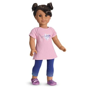 Luciana s PJs for 18 inch Dolls