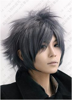 wig guy Picture More Detailed Picture about Final Fantasy Versus 600 Orange Red Short Shaggy Layered Anime Cosplay Hair Wigs Picture