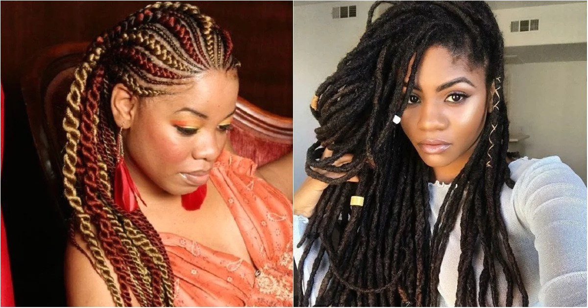 Best Nigerian hairstyles with attachment to rock in 2018