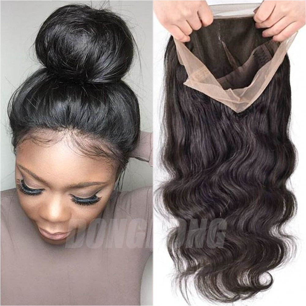 Peruvian Human Hair Wig Silk Top Base Full Lace Lace Front Wigs with Baby Hair 2 Health & Beauty Hair Care & Styling Hair Extensions & Wigs
