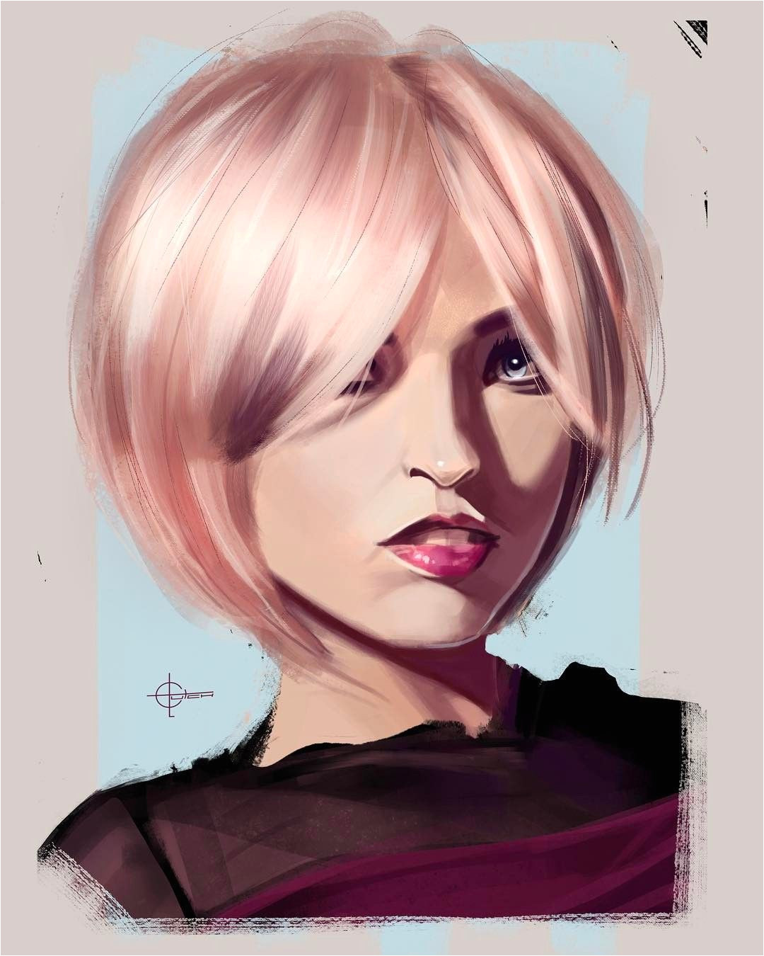 Portrait sketch done for the Daily Drawing Challenge art