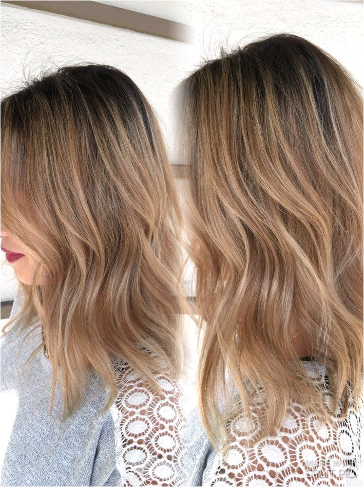 Hair By Ly Tran Cupertino CA United States Lob and lived in clot Blonde on my Asian client