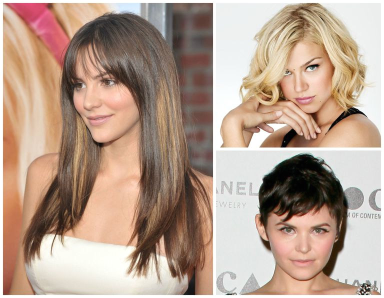 Hairstyles by face shape