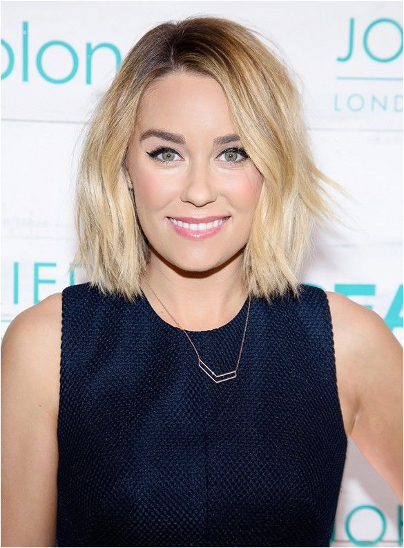 """""""For the record I love round faces """" Bradbury clarifies """"But a long bob below the jaw is the absolute best hairstyle if you want to make your face look"""
