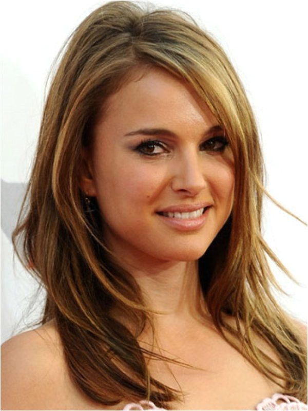 medium length hairstyles for round faces