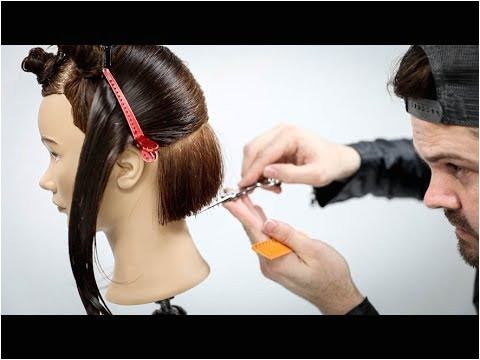 Why am I Cutting a Bob Haircut using Horizontal and Vertical Sections