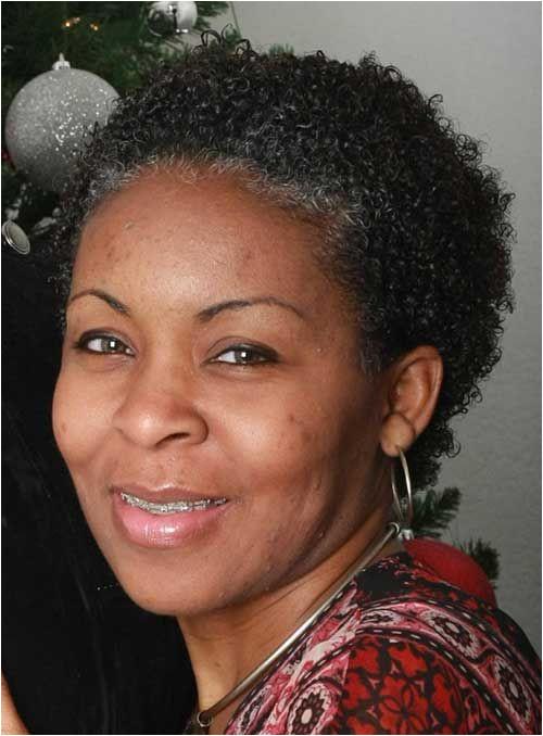 Short Natural Hair for Black Women Over 50