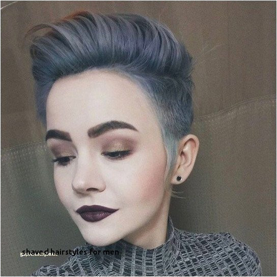 Shaved Hairstyles for Men Que Balayage Hair Style Also Nonbinary Haircut 0d