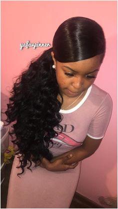 Black Hairstyles Ponytails 2019 355 Best Genie Ponytail Images In 2019