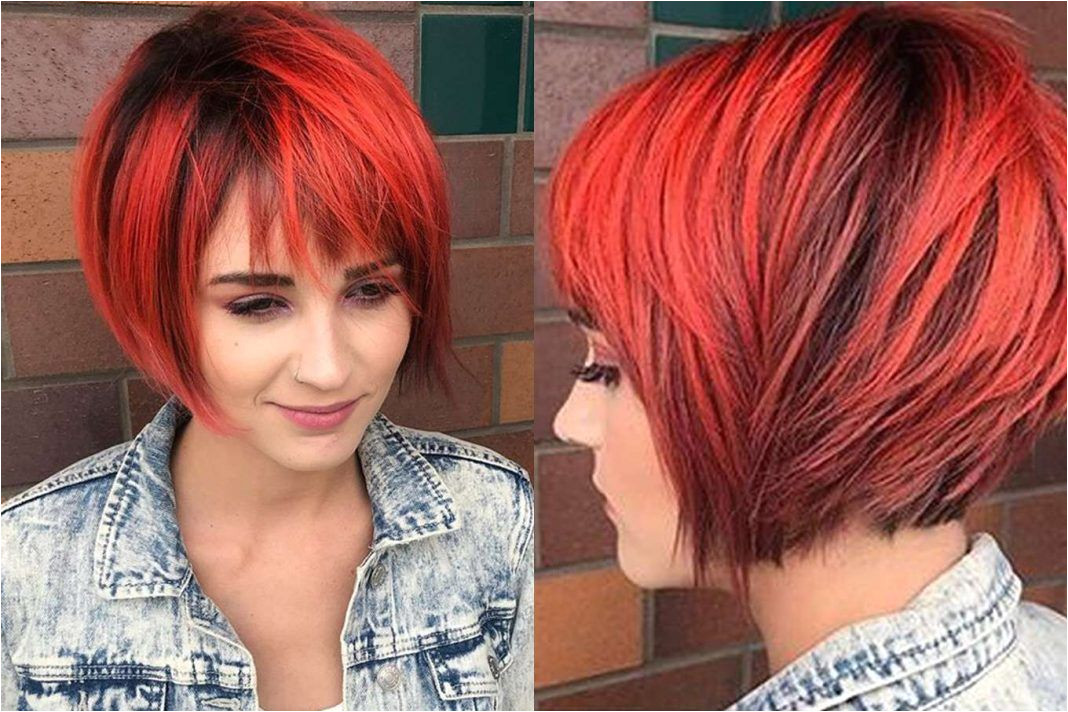 Short Hairstyles Red And Black Picture Gallery