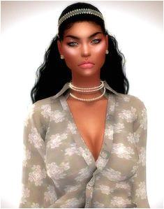 The Sims 4 Create A Sim WAGS LA Sim Full CC List