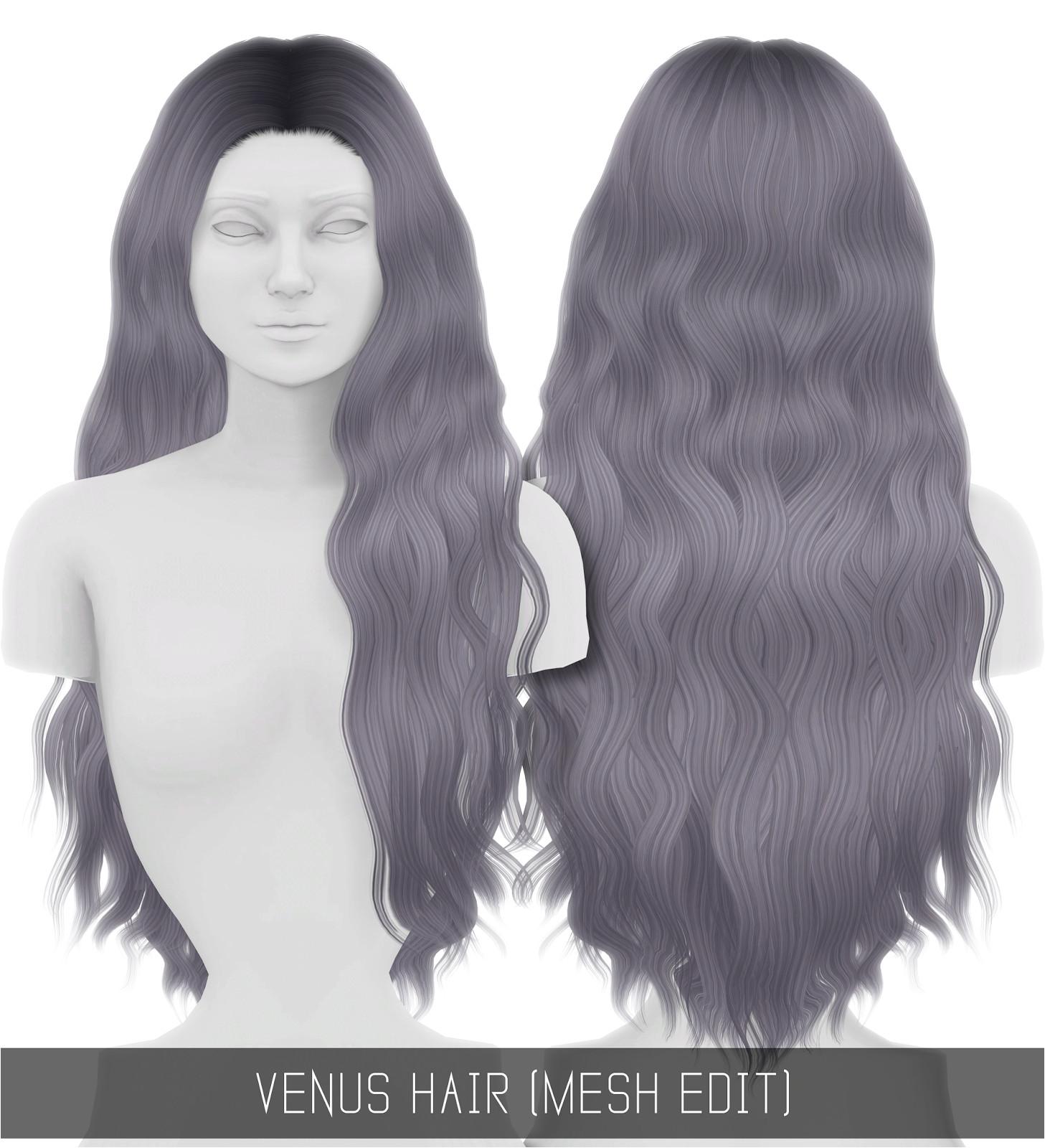Venus Hair Mesh Edit Simpliciaty