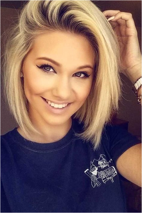 Blonde Haircut Round Face 40 Blonde Short Hairstyles for Round Faces Hair Cuts