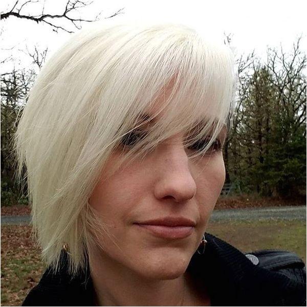 Edgy Asymmetrical Short Blonde Hairstyles 2018 2019