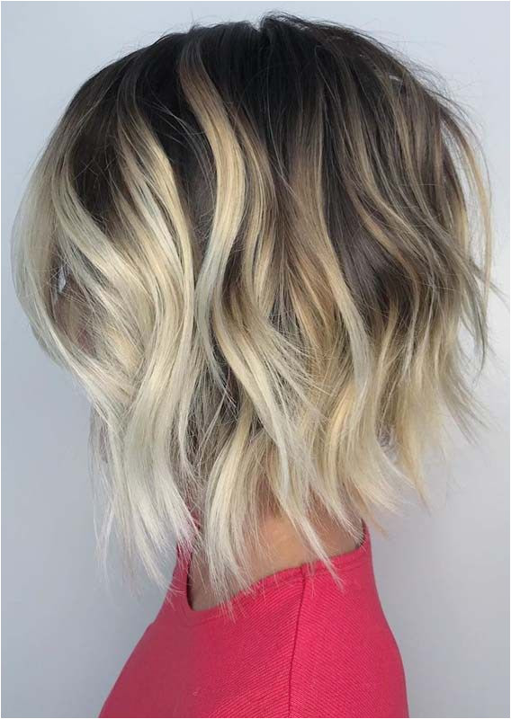 Blonde Hairstyles for 2019 Best Short Textured Bob Haircuts & Hairstyles In 2019