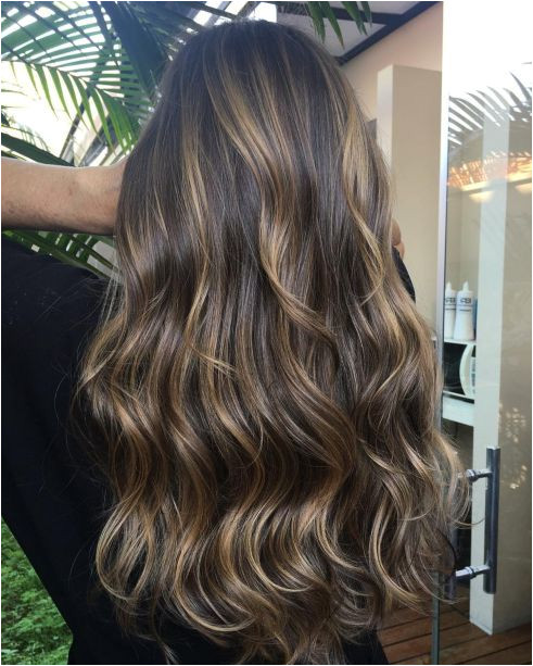 20 Natural Looking Brunette Balayage Styles Dark Golden Blonde Highlights Balayage