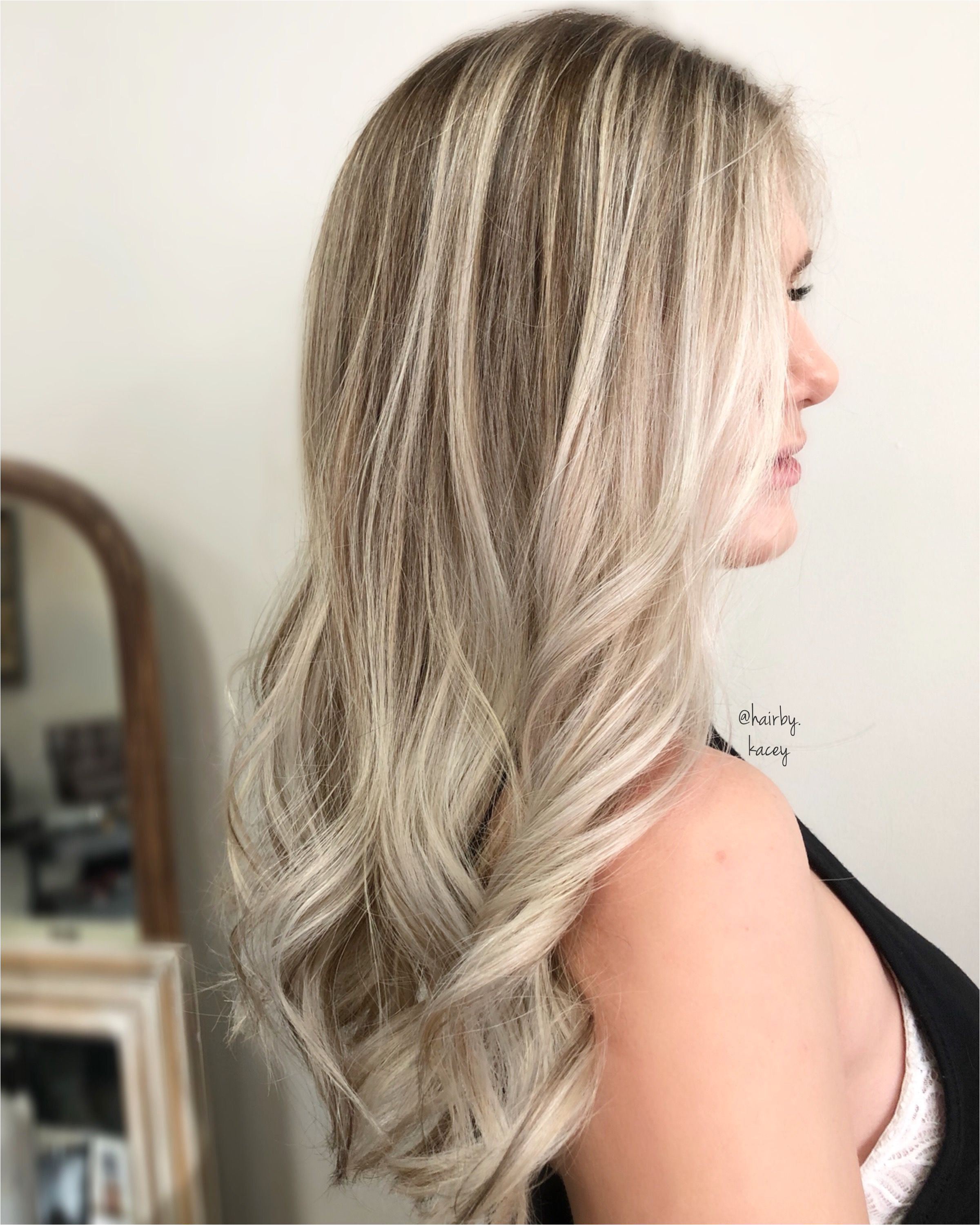 Platinum blonde Blonde Balayage