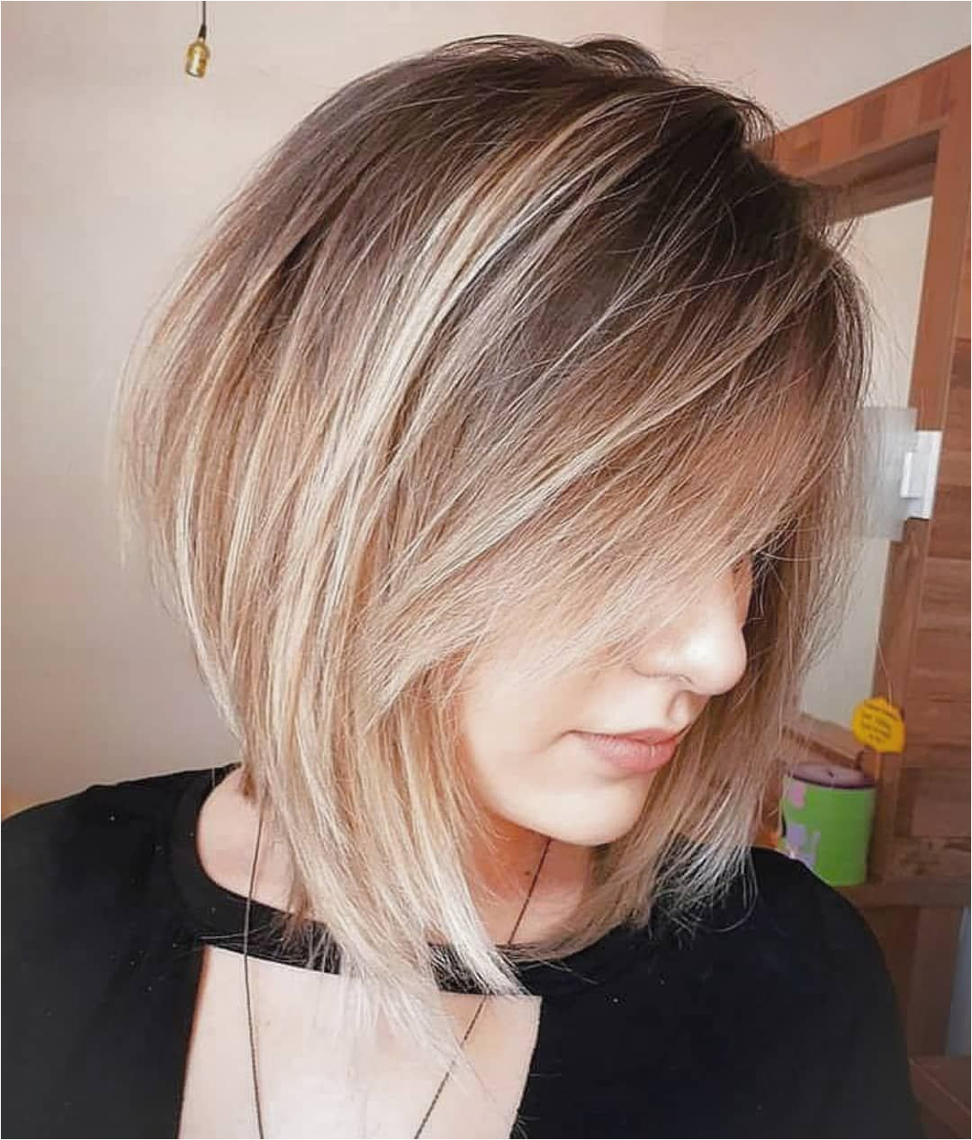 Stylish Choppy Lob Haircut for 2019 Women Shoulder Length Hairstyle Ideas