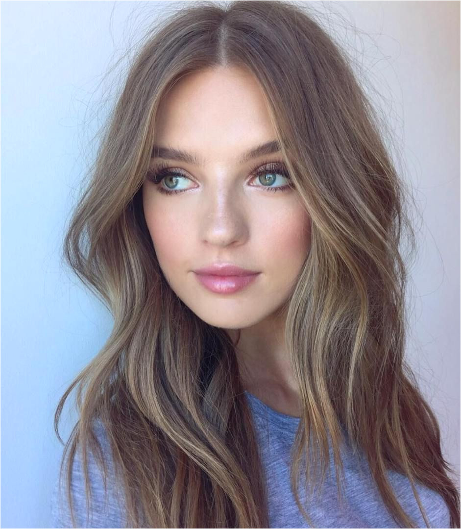 Blonde Hairstyles Middle Parting 70 Devastatingly Cool Haircuts for Thin Hair Hairdos