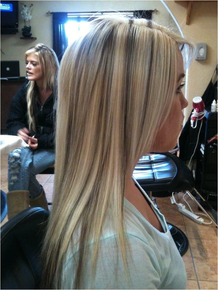blonde lowlights in brown hair tumblr 26