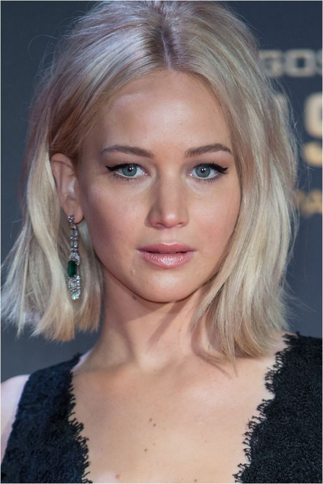 20 coiffures que l on a envie de piquer  Jennifer Lawrence